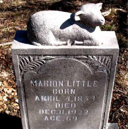 LITTLE, MARION - Carroll County, Arkansas   MARION LITTLE - Arkansas Gravestone Photos