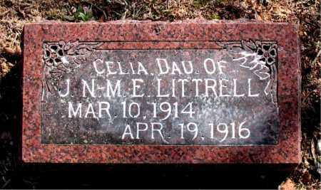 LITTRELL, CELIA - Carroll County, Arkansas   CELIA LITTRELL - Arkansas Gravestone Photos