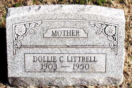 LITTRELL, DOLLIE C - Carroll County, Arkansas | DOLLIE C LITTRELL - Arkansas Gravestone Photos