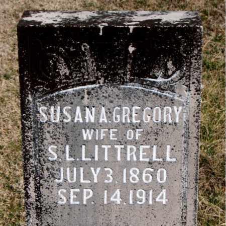 LITTRELL, SUSAN A - Carroll County, Arkansas   SUSAN A LITTRELL - Arkansas Gravestone Photos