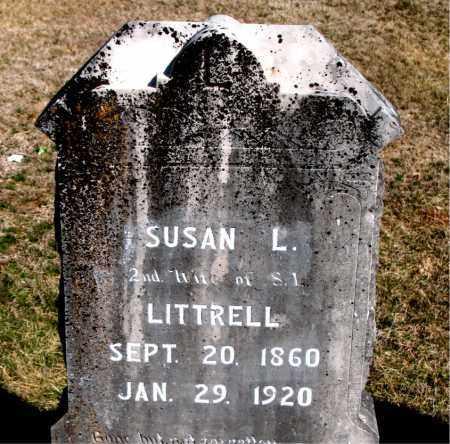 LITTRELL, SUSAN L - Carroll County, Arkansas   SUSAN L LITTRELL - Arkansas Gravestone Photos