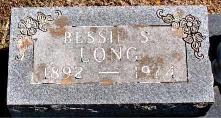 LONG, BESSIE S. - Carroll County, Arkansas | BESSIE S. LONG - Arkansas Gravestone Photos