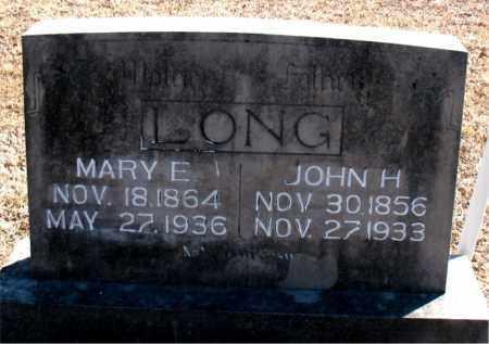 LONG, JOHN H. - Carroll County, Arkansas   JOHN H. LONG - Arkansas Gravestone Photos