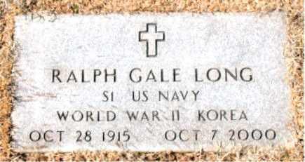 LONG (VETERAN 2 WARS), RALPH GALE - Carroll County, Arkansas   RALPH GALE LONG (VETERAN 2 WARS) - Arkansas Gravestone Photos
