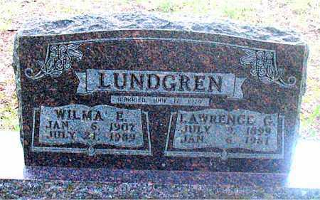 LUNDGREN, LAWRENCE G. - Carroll County, Arkansas   LAWRENCE G. LUNDGREN - Arkansas Gravestone Photos