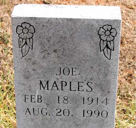MAPLES, JOE - Carroll County, Arkansas   JOE MAPLES - Arkansas Gravestone Photos