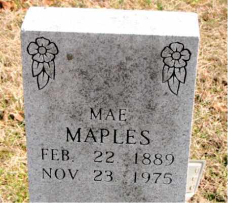 MAPLES, MAE - Carroll County, Arkansas   MAE MAPLES - Arkansas Gravestone Photos