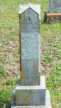 MARRIOTT, WILLIAM - Carroll County, Arkansas   WILLIAM MARRIOTT - Arkansas Gravestone Photos