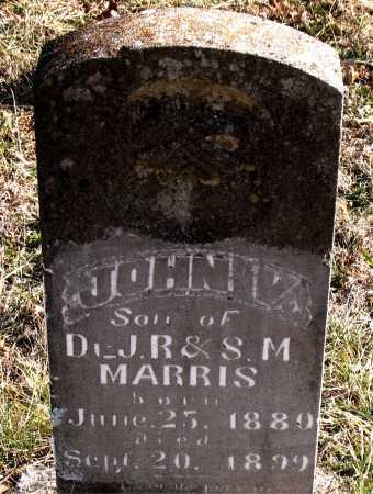 MARRIS, JOHN V. - Carroll County, Arkansas | JOHN V. MARRIS - Arkansas Gravestone Photos