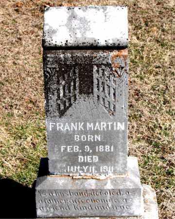MARTIN, FRANK - Carroll County, Arkansas | FRANK MARTIN - Arkansas Gravestone Photos
