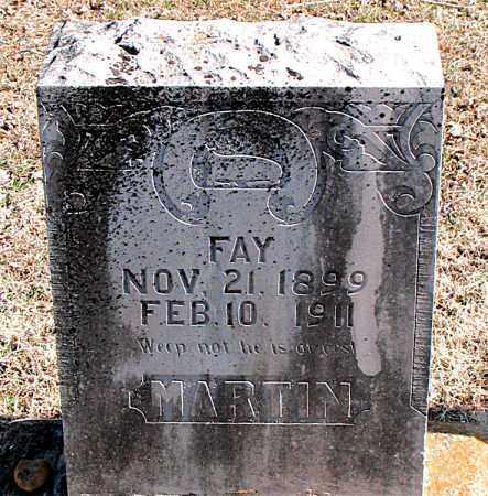 MARTIN, FAY - Carroll County, Arkansas   FAY MARTIN - Arkansas Gravestone Photos