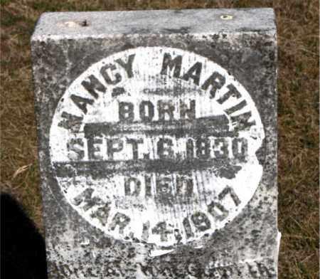 MARTIN, NANCY - Carroll County, Arkansas | NANCY MARTIN - Arkansas Gravestone Photos