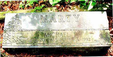 MARTY, MICHAEL L. - Carroll County, Arkansas | MICHAEL L. MARTY - Arkansas Gravestone Photos