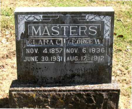 MASTERS, GEORGE W - Carroll County, Arkansas | GEORGE W MASTERS - Arkansas Gravestone Photos