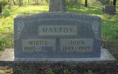 MATTOX, JOHN - Carroll County, Arkansas   JOHN MATTOX - Arkansas Gravestone Photos