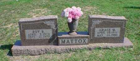 MATTOX, GRACE M - Carroll County, Arkansas | GRACE M MATTOX - Arkansas Gravestone Photos