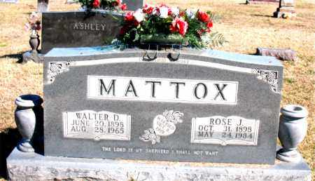 MATTOX, ROSE  J - Carroll County, Arkansas | ROSE  J MATTOX - Arkansas Gravestone Photos