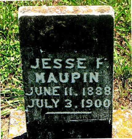 MAUPIN, JESSE F - Carroll County, Arkansas | JESSE F MAUPIN - Arkansas Gravestone Photos