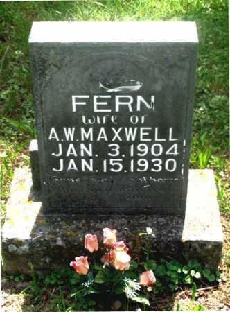 MAXWELL, FERN - Carroll County, Arkansas | FERN MAXWELL - Arkansas Gravestone Photos