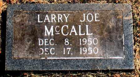 MCCALL, LARRY JOE - Carroll County, Arkansas | LARRY JOE MCCALL - Arkansas Gravestone Photos