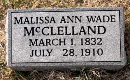 MCCLELLAND, MALISSA ANN - Carroll County, Arkansas | MALISSA ANN MCCLELLAND - Arkansas Gravestone Photos