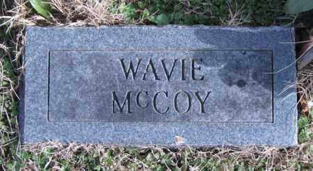 MCCOY, WAVIE - Carroll County, Arkansas | WAVIE MCCOY - Arkansas Gravestone Photos