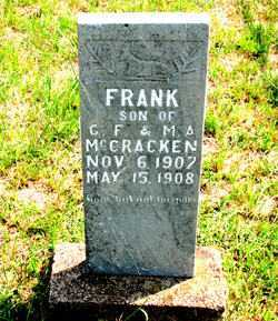 MCCRACKEN, FRANK - Carroll County, Arkansas | FRANK MCCRACKEN - Arkansas Gravestone Photos