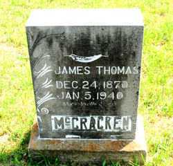 MCCRACKEN, JAMES  THOMAS - Carroll County, Arkansas | JAMES  THOMAS MCCRACKEN - Arkansas Gravestone Photos