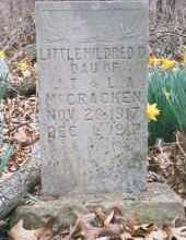 MCCRACKEN, MILDRED - Carroll County, Arkansas | MILDRED MCCRACKEN - Arkansas Gravestone Photos