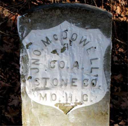 MCDOWELL  (VETERAN UNION), JNO - Carroll County, Arkansas   JNO MCDOWELL  (VETERAN UNION) - Arkansas Gravestone Photos