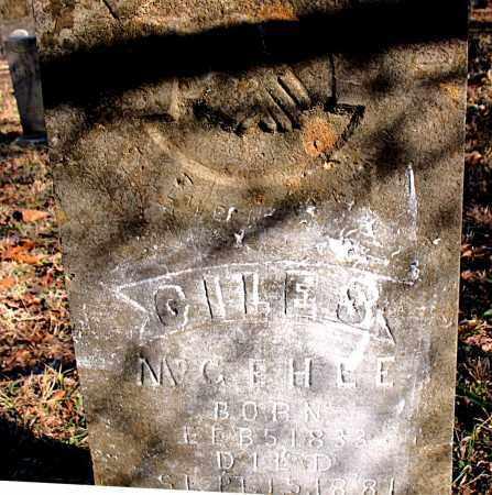 MCGEHEE, GILES S. - Carroll County, Arkansas   GILES S. MCGEHEE - Arkansas Gravestone Photos
