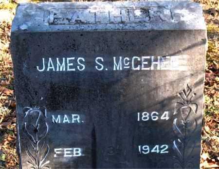 MCGEHEE, JAMES S. - Carroll County, Arkansas | JAMES S. MCGEHEE - Arkansas Gravestone Photos