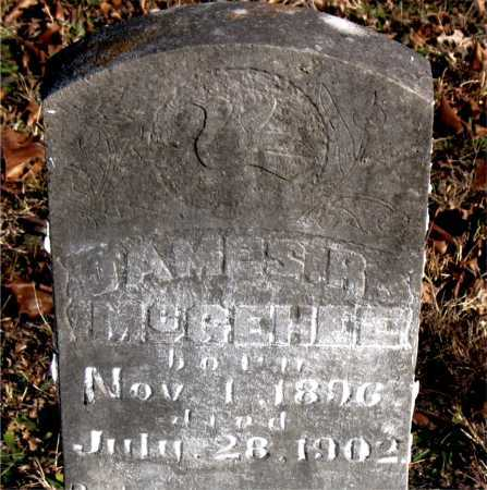 MCGEHEE, JAMES R. - Carroll County, Arkansas | JAMES R. MCGEHEE - Arkansas Gravestone Photos