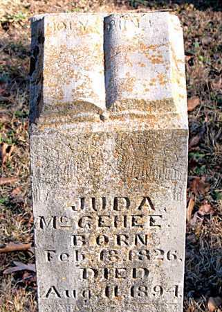 MCGEHEE, JUDA - Carroll County, Arkansas   JUDA MCGEHEE - Arkansas Gravestone Photos