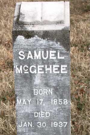 MCGEHEE, SAMUEL - Carroll County, Arkansas   SAMUEL MCGEHEE - Arkansas Gravestone Photos