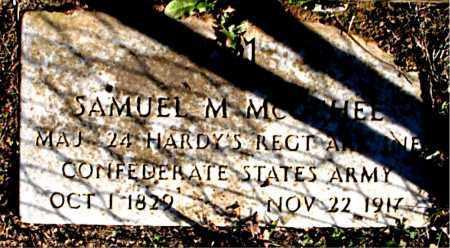 MCGEHEE (VETERAN CSA), SAMUEL M. - Carroll County, Arkansas | SAMUEL M. MCGEHEE (VETERAN CSA) - Arkansas Gravestone Photos