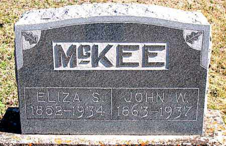 MCKEE, ELIZA S - Carroll County, Arkansas | ELIZA S MCKEE - Arkansas Gravestone Photos