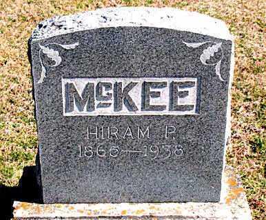 MCKEE, HIRAM P - Carroll County, Arkansas | HIRAM P MCKEE - Arkansas Gravestone Photos