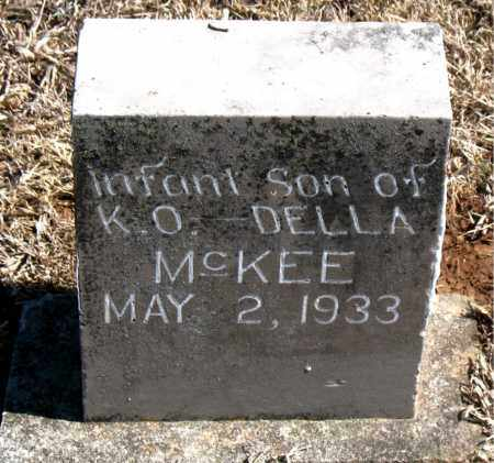MCKEE, INFANT SON - Carroll County, Arkansas | INFANT SON MCKEE - Arkansas Gravestone Photos