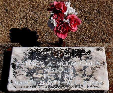 MCLAUGHLIN (VETERAN), PATRICK A. - Carroll County, Arkansas   PATRICK A. MCLAUGHLIN (VETERAN) - Arkansas Gravestone Photos