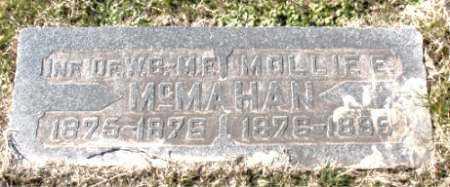 MCMAHAN, INFANT - Carroll County, Arkansas | INFANT MCMAHAN - Arkansas Gravestone Photos