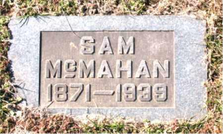 MCMAHAN, SAM - Carroll County, Arkansas | SAM MCMAHAN - Arkansas Gravestone Photos