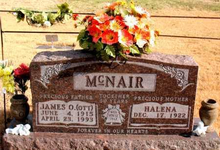 MCNAIR, JAMES  O. (OTT) - Carroll County, Arkansas   JAMES  O. (OTT) MCNAIR - Arkansas Gravestone Photos