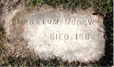 MCNEW, MRS.  TOM - Carroll County, Arkansas | MRS.  TOM MCNEW - Arkansas Gravestone Photos