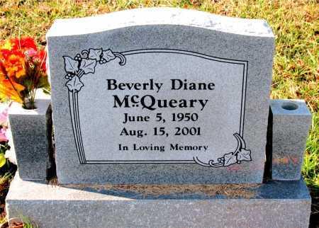 MCQUEARY, BEVERLY  DIANE - Carroll County, Arkansas | BEVERLY  DIANE MCQUEARY - Arkansas Gravestone Photos