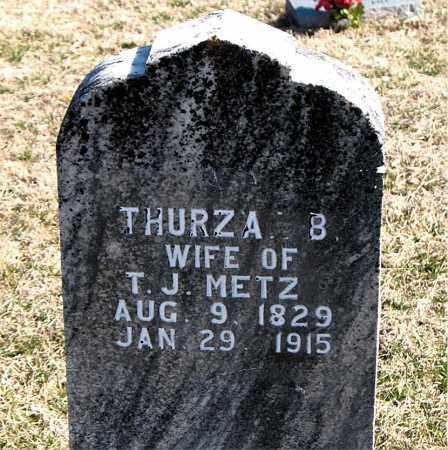 METZ, THURZA B - Carroll County, Arkansas | THURZA B METZ - Arkansas Gravestone Photos