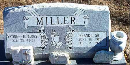 MILLER, SR., FRANK L. - Carroll County, Arkansas | FRANK L. MILLER, SR. - Arkansas Gravestone Photos