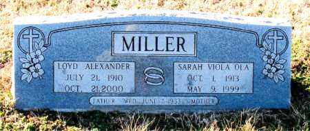 MILLER, SARAH VIOLA OLA - Carroll County, Arkansas   SARAH VIOLA OLA MILLER - Arkansas Gravestone Photos