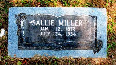 MILLER, SALLIE - Carroll County, Arkansas | SALLIE MILLER - Arkansas Gravestone Photos