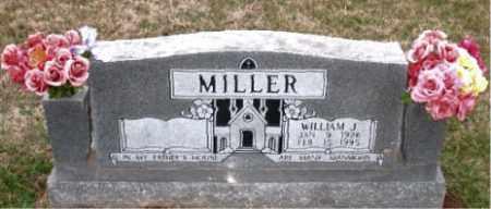 MILLER, WILLIAM J. - Carroll County, Arkansas | WILLIAM J. MILLER - Arkansas Gravestone Photos